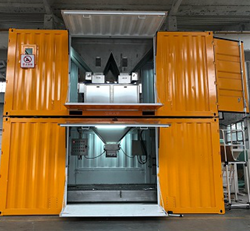 Mobile bagging machine
