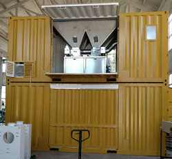 container bagging machine